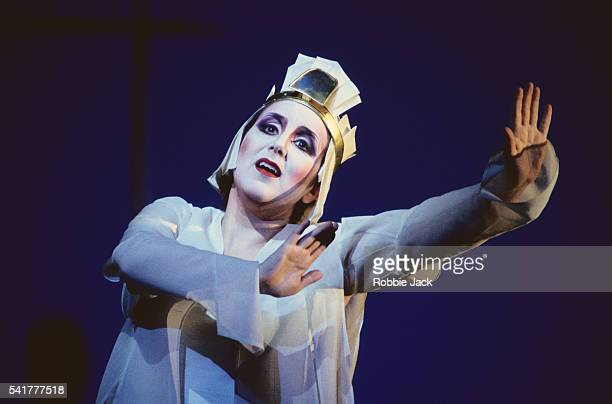 Dawn Upshaw on Stage in The Magic Flute