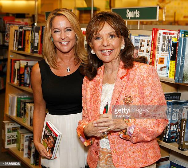 Dawn Wells and Erin Murphy at Barnes Noble bookstore at The Grove on September 29 2014 in Los Angeles California
