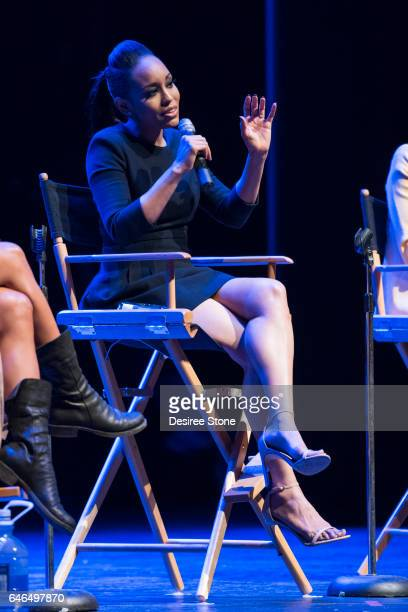 DawnLyen Gardner 'A Conversation with Issa Rae' 'Rising Stars' Panel Hosted by SAG/AFTRA at Saban Theatre on February 28 2017 in Beverly Hills...