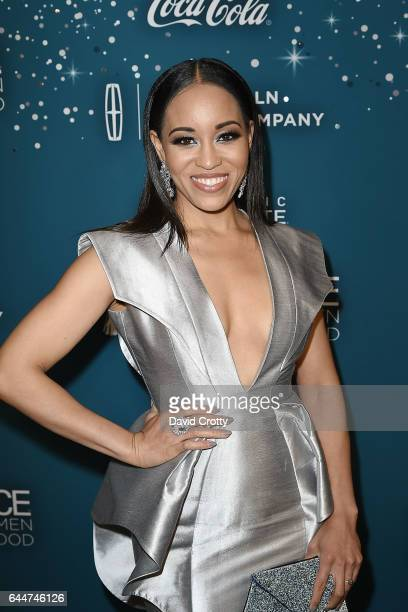 DawnLyen Gardner attends the Essence 10th Annual Black Women In Hollywood Awards Gala Arrivals at the Beverly Wilshire Four Seasons Hotel on February...