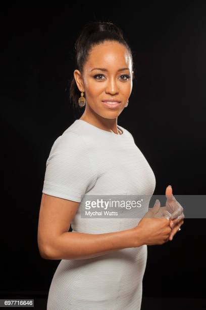 DawnLyen Gardner Poses for a Portrait on Day 3 of the American Black Film Festival on June 14 2017 in Miami Florida