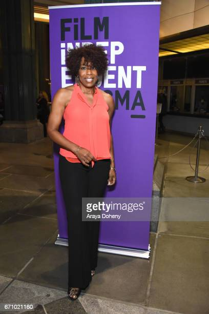 Dawnn Lewis attends the Film Independent at LACMA Special Screening and QA of 'The Life Of Henrietta Lacks' at Bing Theatre At LACMA on April 20 2017...