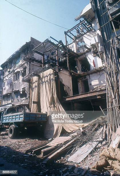 Dawood Ibrahim's Building demolition at Mumbai