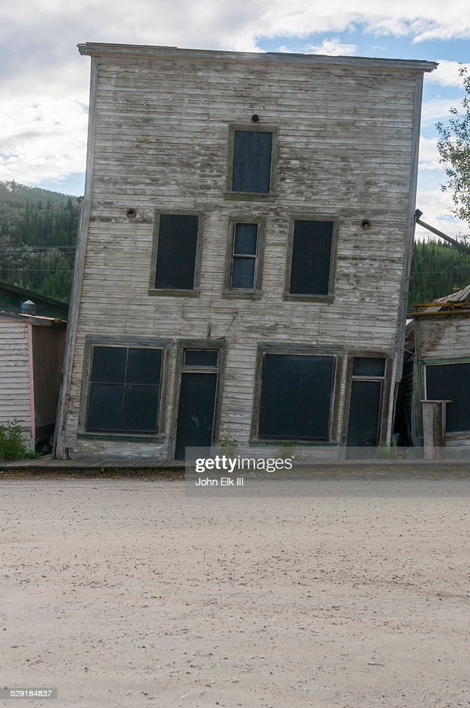 Dawson City, Historic downtown building