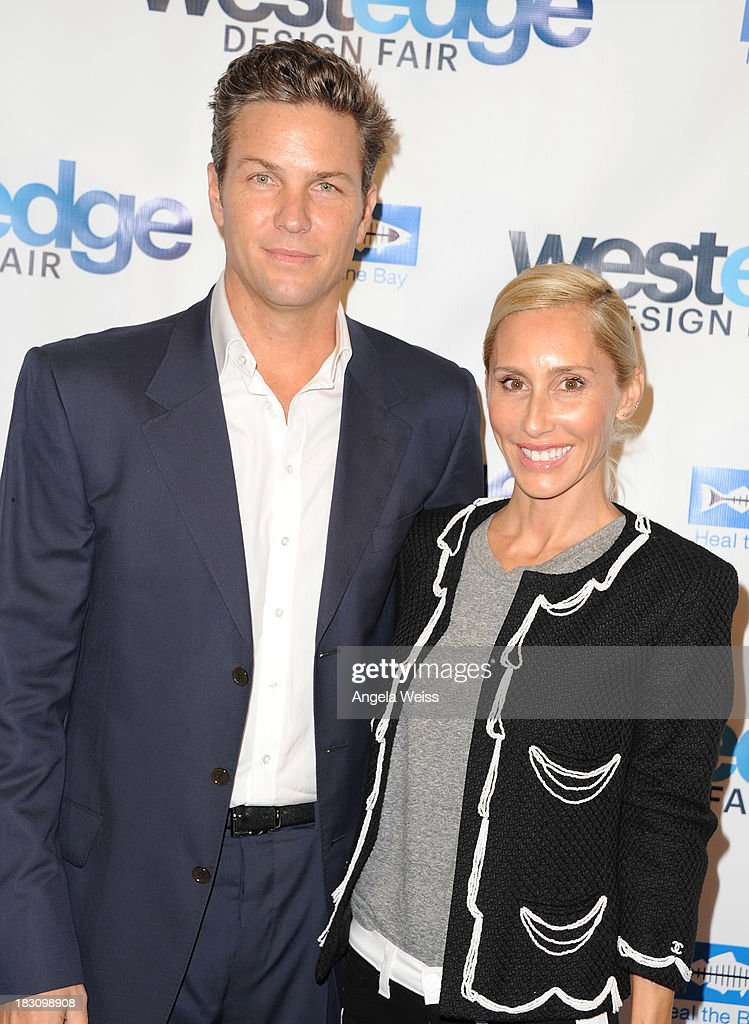 Dax Miller and Alexandra Von Furstenberg attend the WestEdge Design Fair opening night benefiting Heal the Bay at Barker Hangar on October 3, 2013 in Santa Monica, California.