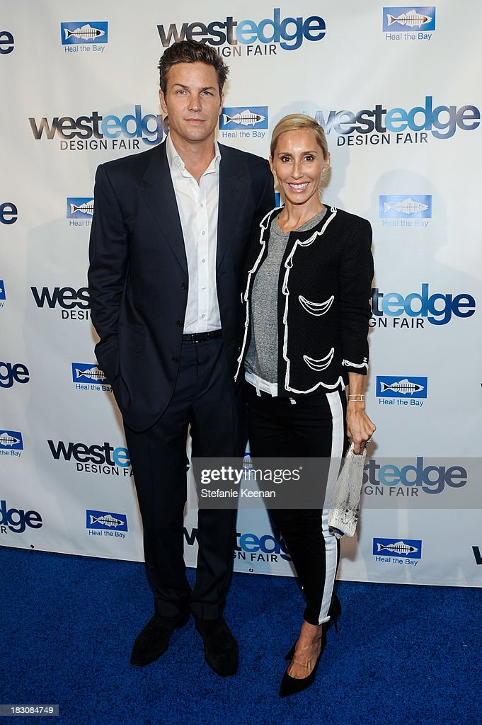 Dax Miller and Alexandra Von Furstenberg attend WestEdge Design Fair at Barker Hangar on October 3, 2013 in Santa Monica, California.