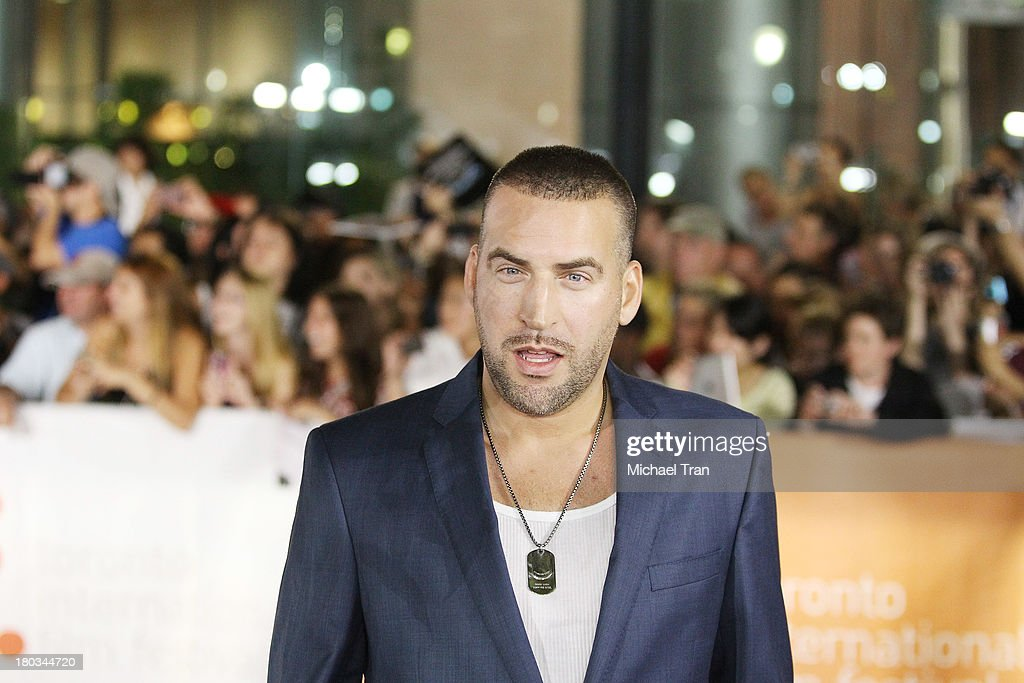 Dax Ravina arrives at 'The Art Of The Steal' premiere during the 2013 Toronto International Film Festival held at Roy Thomson Hall on September 11...