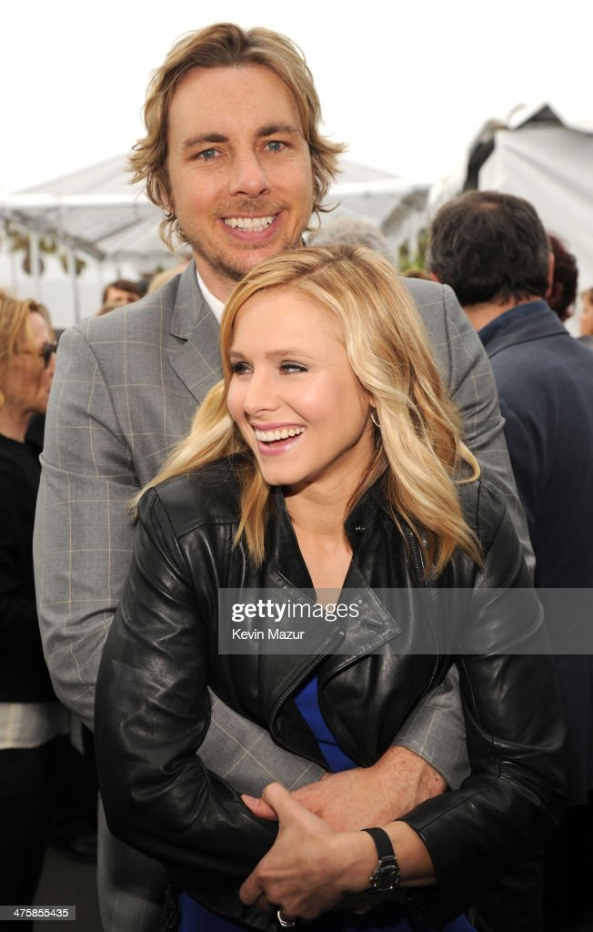 Dax Shepard and Kristen Bell attend the 2014 Film Independent Spirit Awards at Santa Monica Beach on March 1, 2014 in Santa Monica, California.