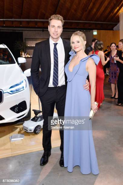 Dax Shepard and Kristen Bell attend The 2017 Baby2Baby Gala presented by Paul Mitchell on November 11 2017 in Los Angeles California