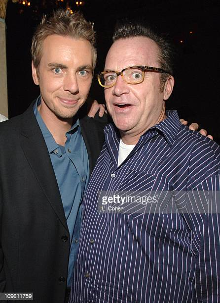 Dax Shepard and Tom Arnold during 'Employee of the Month' Los Angeles Premiere After Party at Hollywood Roosevelt Hotel in Los Angeles California...