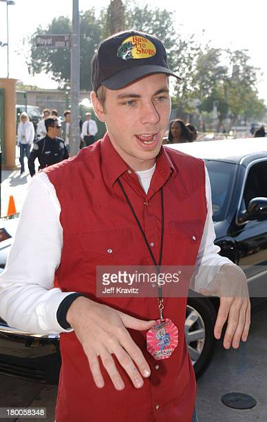 Dax Shepard during 2003 MTV Movie Awards Arrivals at The Shrine Auditorium in Los Angeles California United States