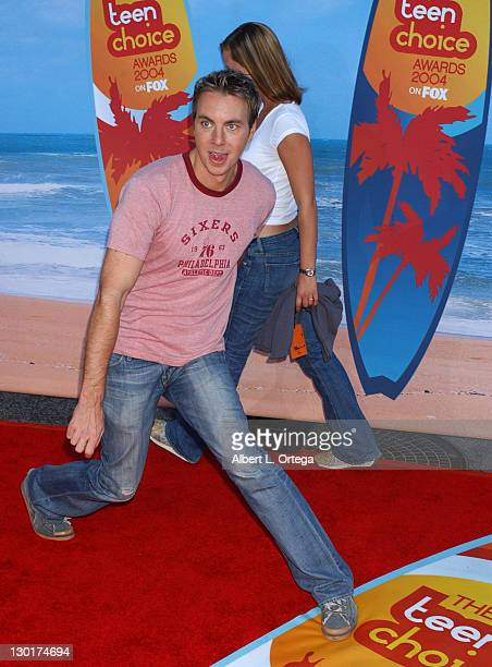Dax Shepard during The 2004 Teen Choice Awards Arrivals at Universal Ampitheatre in Universal City California United States