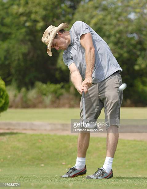 Dax Shepard during The 3rd Annual Royal Plantation and Access Hollywood Celebrity Golf Classic Day 2 at Royal Plantation in Ocho Rios Jamaica