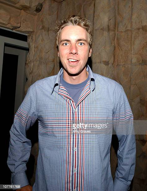 Dax Shepard of 'Punk'd' during InStyle Summer Party 2003 at Private Residence in Los Angeles California United States