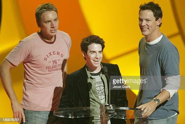Dax Shepard Seth Green and Matthew Lillard during The 2004 Teen Choice Awards Show at Universal Amphitheatre in Universal City California United...