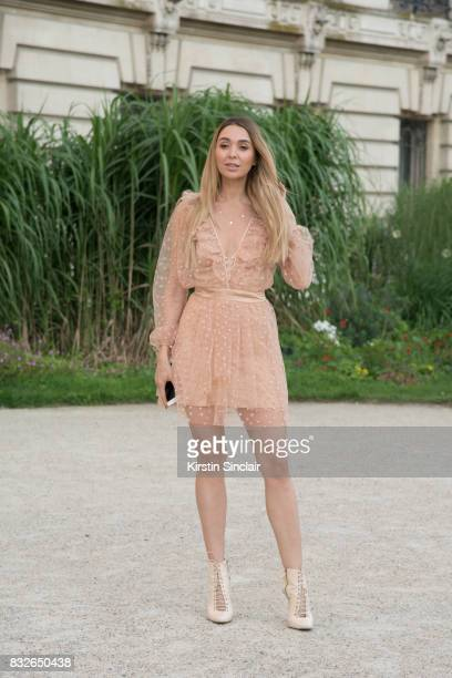 day 2 of Paris Haute Couture Fashion Week Autumn/Winter 2017 on July 3 2017 in Paris France