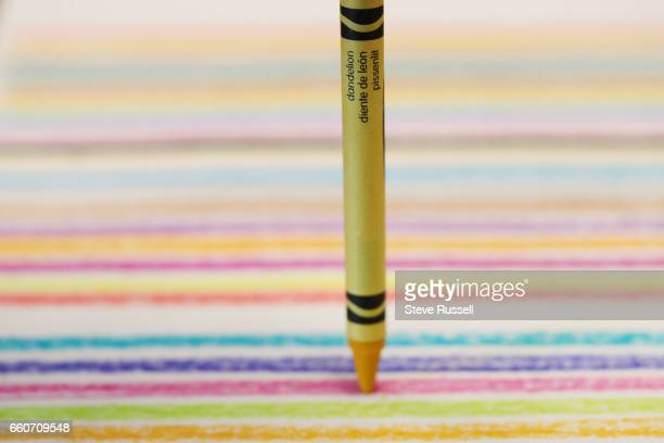 TORONTO ON MARCH 30 A day before Friday National Crayon Day Crayola's announcement about the colour it will retire is blown when a Target in the...