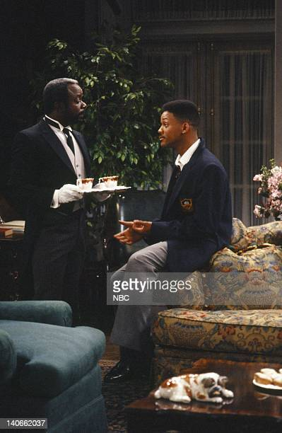 AIR 'Day Damn One' Episode 114 Pictured Joseph Marcell as Geoffrey Will Smith as William 'Will' Smith