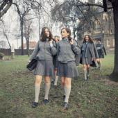 Day Ending For Schoolgirls In Uk
