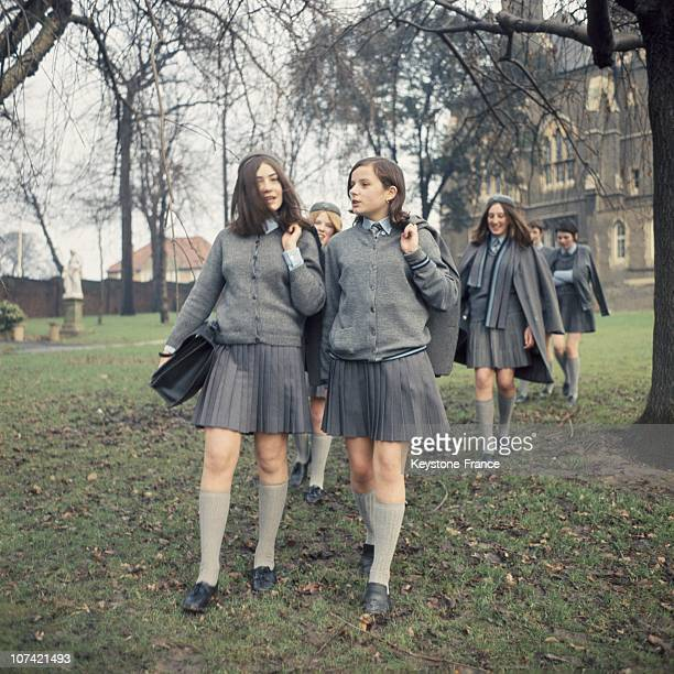 Day Ending For Schoolgirls In Uk