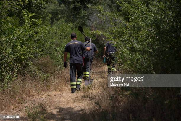 4 day fire on Mount Paparano