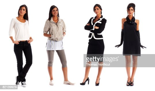 Day in the Life of Adult Woman : Stock Photo