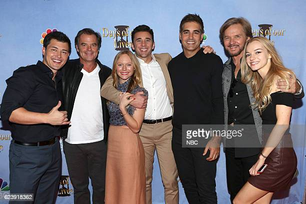 LIVES 'A Day of Days Event' Pictured Christopher Sean Wally Kurth Marci Miller Billy Flynn Galen Gering Stephen Nichols Olivia Rose Keegan