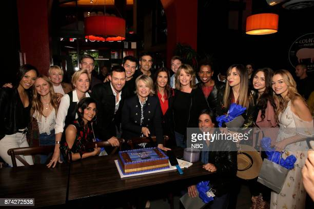 LIVES 'A Day of Days' Pictured Sal Stowers Marci Miller Judi Evans Kassie DePaiva Camila Banus Lucas Adams Eric Martsolf Christopher Sean Mary Beth...