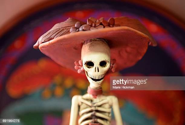 Day of the Dead ceramic skeleton Catrina