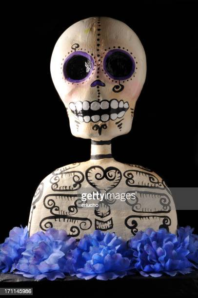 Day of the Dead Skull-film title