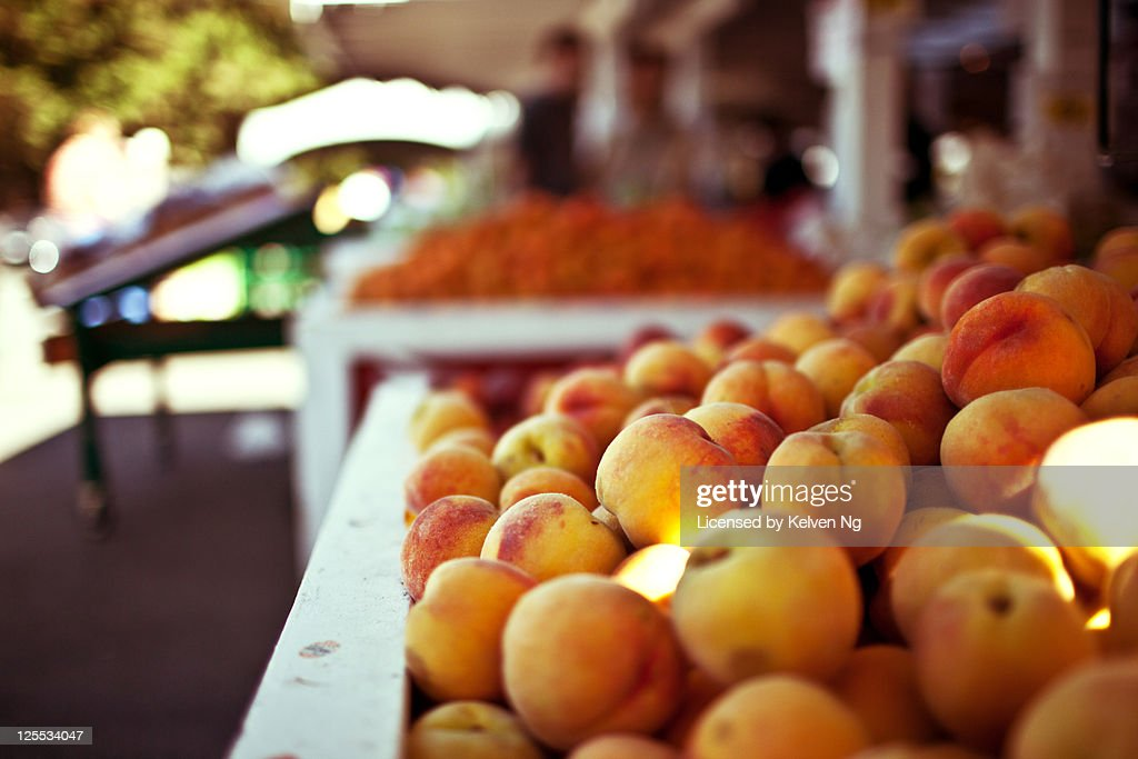Day off at market : Stock Photo