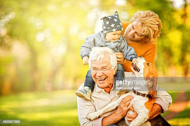 Day out with grandma and grandpa