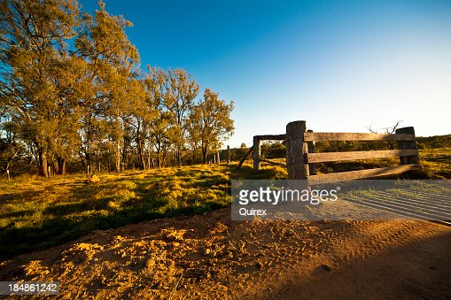 A day shoot of an Australian farmhouse