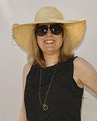 Day Spa Magazine editor Leslie McCave attends Rainbeau Mars E Book Brunch Celebration on July 22 2016 in Beverly Hills California