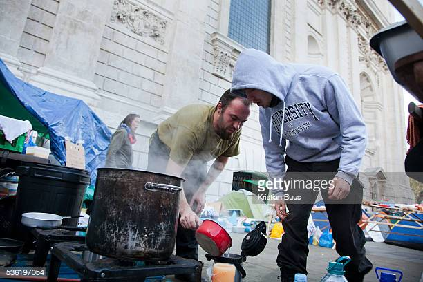 Day three of the occupation and the first Monday A women is keeping the square clean The square has been renamed Tahrir Square after the square in...