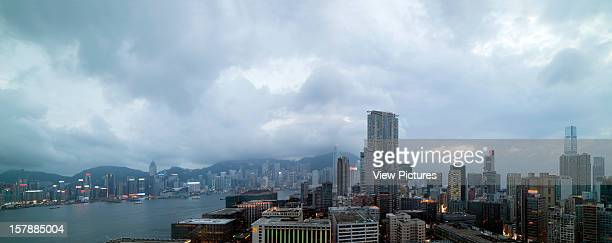 Day Time View Of Hong Kong Island From Hotel Icon Rocco Yim China Architect