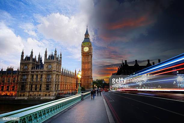 Day to Night on Westminster Bridge