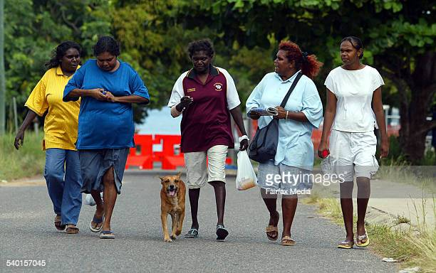 Day two of the coronial inquest into the death of Palm Island man Cameron Doomadgee who died while in police custody in November 2004 Memebers of the...