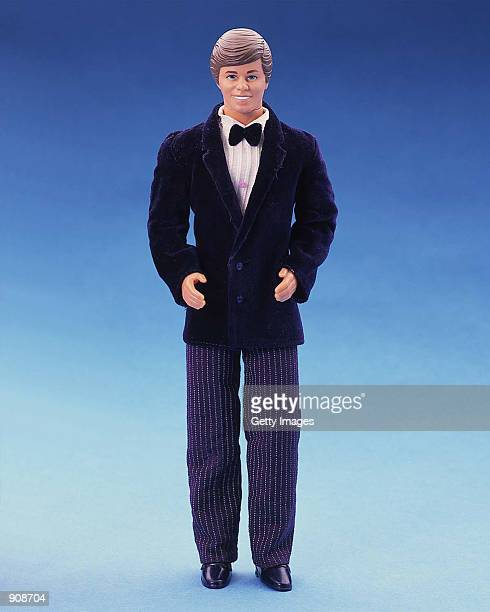 A 1985 Day2Night Ken doll is dressed in a tuxedo in this studio portrait On March 13 Mattel toy company celebrated the 40th anniversary of the Ken...