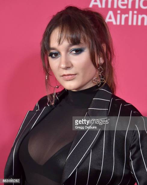 Daya arrives at the Billboard Women In Music 2017 at The Ray Dolby Ballroom at Hollywood Highland Center on November 30 2017 in Hollywood California