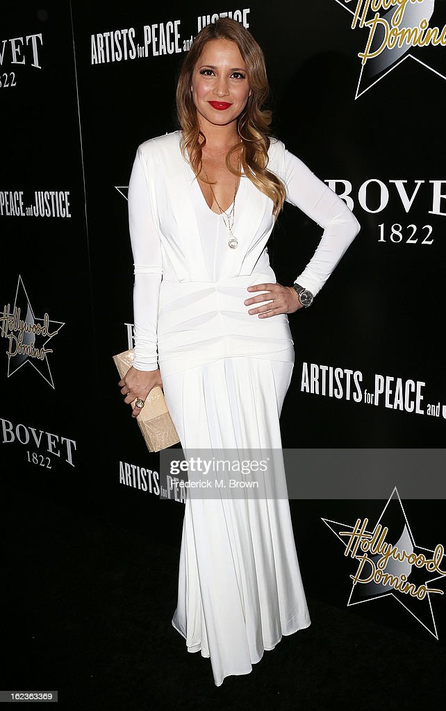 Daya Fernandez attends Hollywood Domino And Bovet 1822 Gala Benefiting Artists For Peace And Justice at the Sunset Tower Hotel on February 21, 2013 in West Hollywood, California.