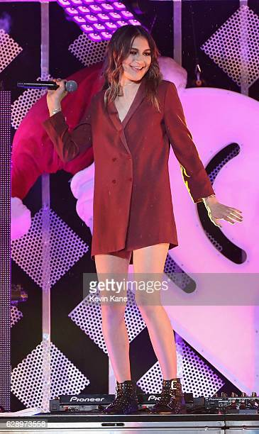 Daya performs during the 2016 Z100 Jingle Ball at Madison Square Garden on December 9 2016 in New York City