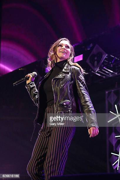 Daya performs onstage at 1061 KISS FM's Jingle Ball 2016 Presented by Capital One at the American Airlines Center on November 29 2016 in Dallas Texas