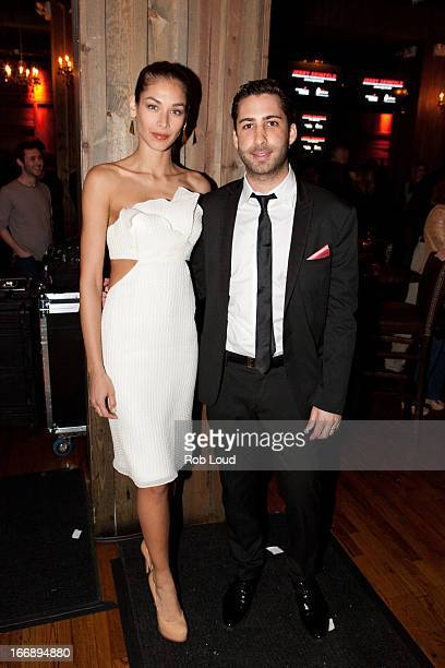 Dayana Mendoza and Joseph Shalom attend the preparty for Stand Up For a Cure at Madison Square Garden on April 17 2013 in New York City