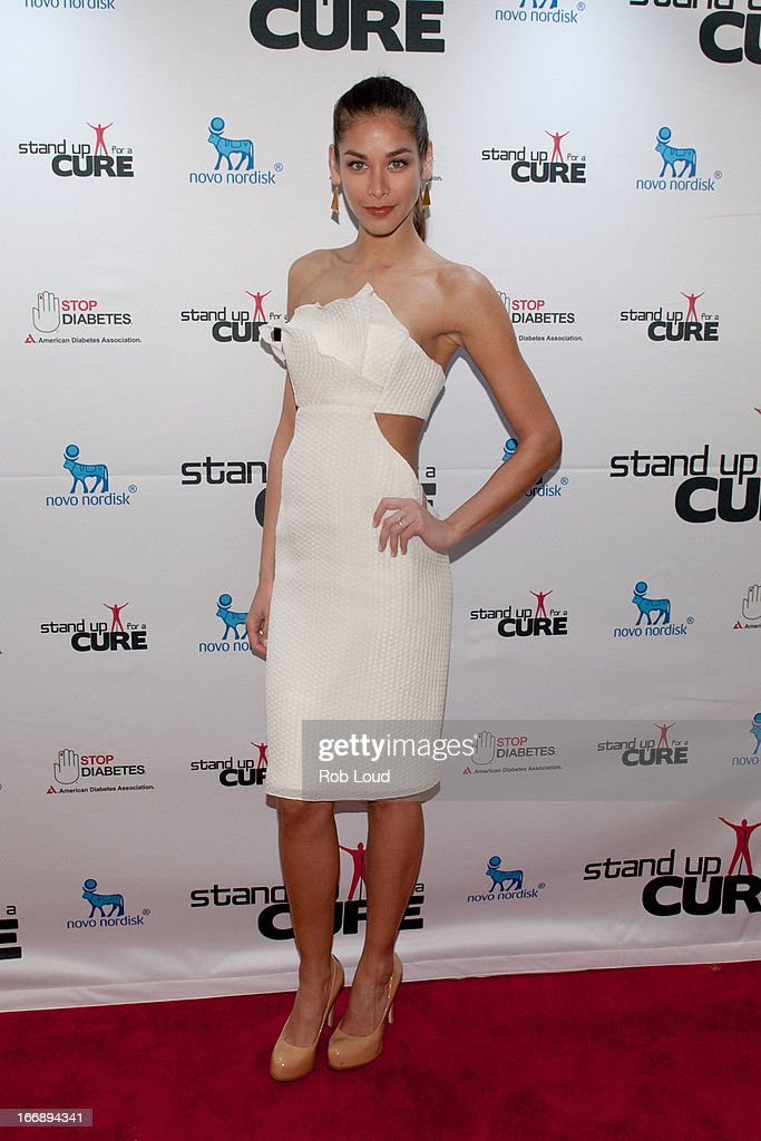 Dayana Mendoza arrives at Stand Up For a Cure at Madison Square Garden on April 17, 2013 in New York City.