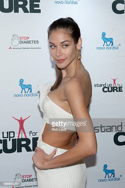Dayana Mendoza arrives at Stand Up For a Cure at Madison Square Garden on April 17 2013 in New York City