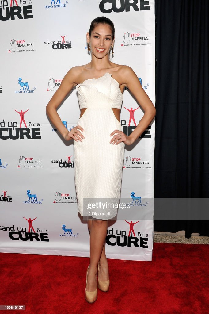 Dayana Mendoza attends Stand Up For A Cure 2013 at Madison Square Garden on April 17, 2013 in New York City.
