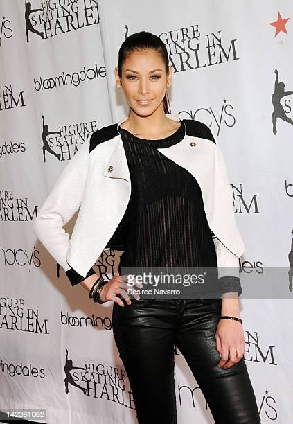Dayana Mendoza attends the 2012 Skating with the Stars gala at theWollman Rink Central Park on April 2 2012 in New York City