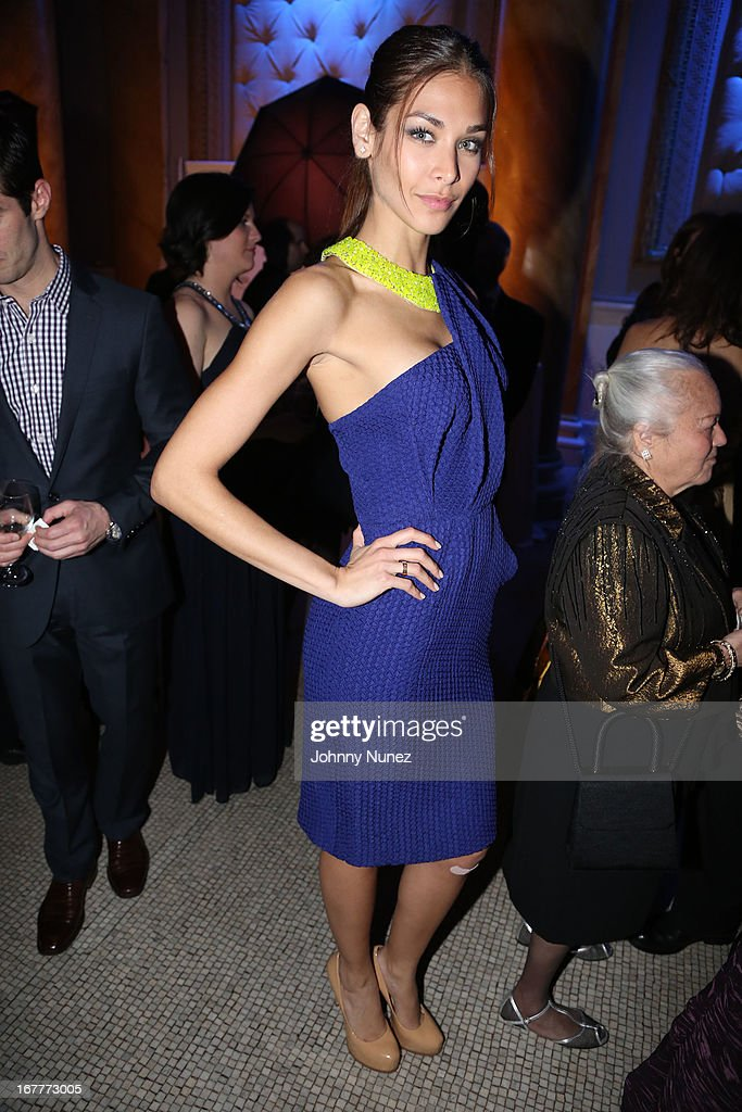 <a gi-track='captionPersonalityLinkClicked' href=/galleries/search?phrase=Dayana+Mendoza&family=editorial&specificpeople=5125360 ng-click='$event.stopPropagation()'>Dayana Mendoza</a> attends the 67th Anniversary Jose Limon Dance Foundation Gala at Capitale on April 29, 2013 in New York City.