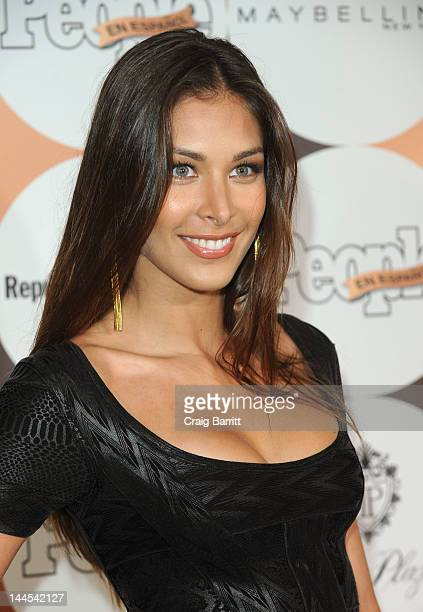 Dayana Mendoza attends the People En Espanol's '50 Most Beautiful' Event at The Plaza on May 15 2012 in New York City
